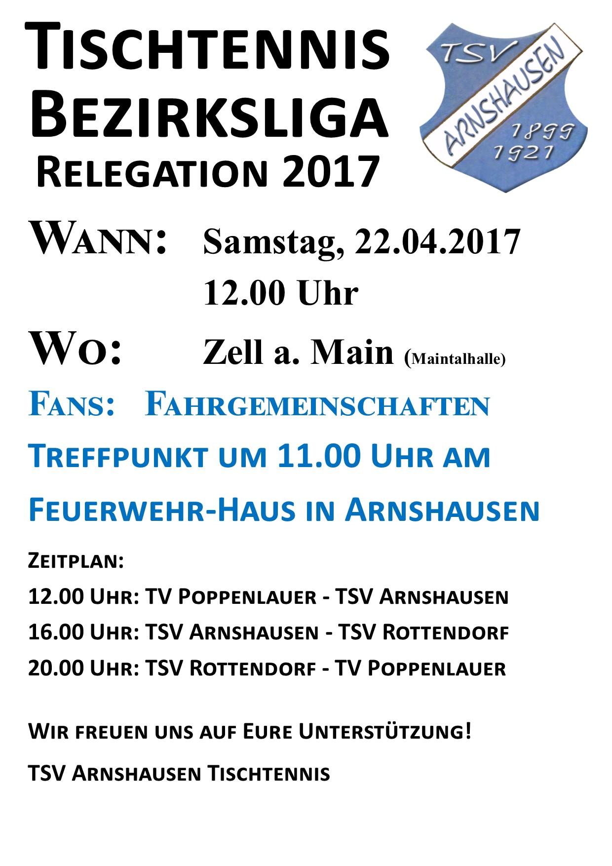 Relegation 2021 Termine